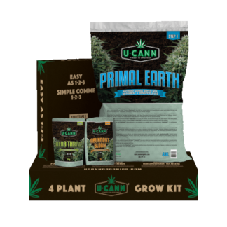 UCANN 4 Plant Grow Kit
